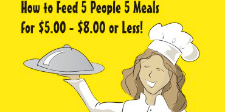 Five Meals for $ 5