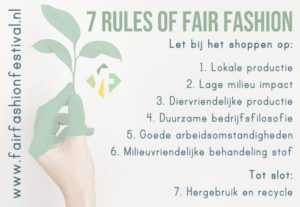 Zondag 27 mei: Fair Fashion Festival