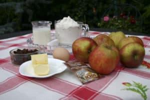 ingredienten appelvlaai
