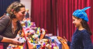 Recycle Sint geeft cadeautjes